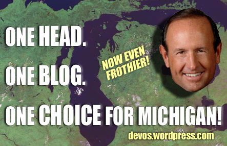 One Head, One Blog, One Choice for Michigan