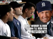 Don't worry A-Rod, Dick Devos will run for President!